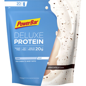 PowerBar Deluxe Protein Sports Nutrition Stracciatella 500g blue/white